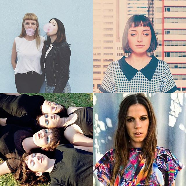 Looking forward to playing alongside these incredible ladies next week for the 'Sonder' WA shows! #fait #sonder #perth #coolperthnights 22.12.16 - @babushkaleederville with @stelladonnelly & @felicitygroom  23.12.16 - @mojosbarfreo with @bodytypeband & @dianasband