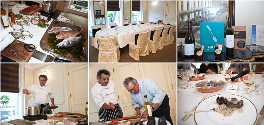 Fish Masterclass at Brown's Mayfair SMS Creative Photography Mark Hix