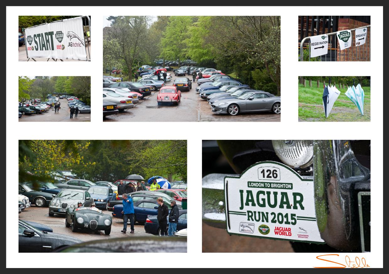 London-Brighton Jaguar Car Run Stella Scordellis