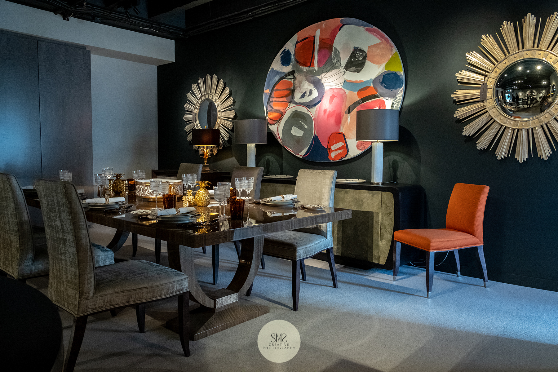 'Davidson' British bespoke craftsmanship, I adore the colours and design in this showroom