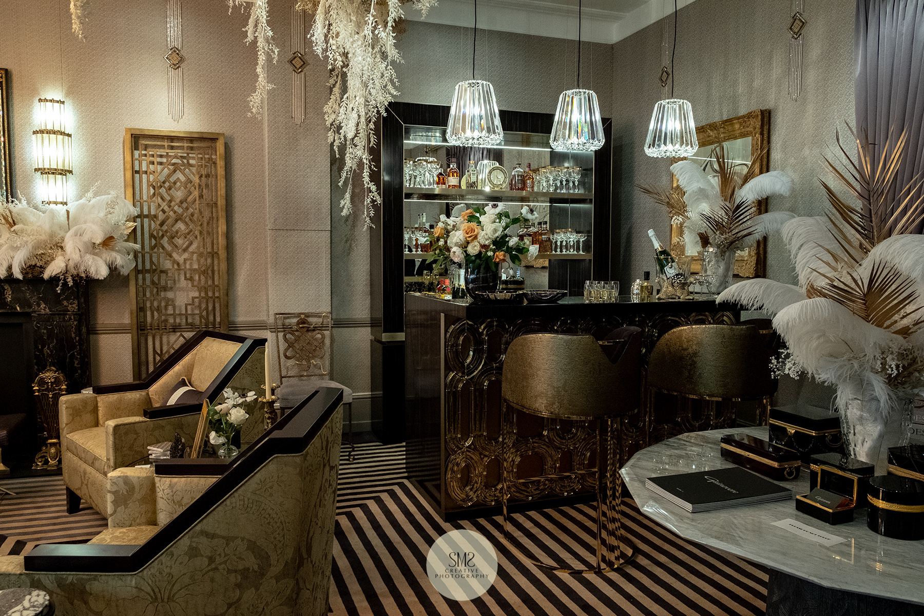 'Turnell and Gigon' - The Gatsby Suite design by Katharine Pooley, well worth a visit