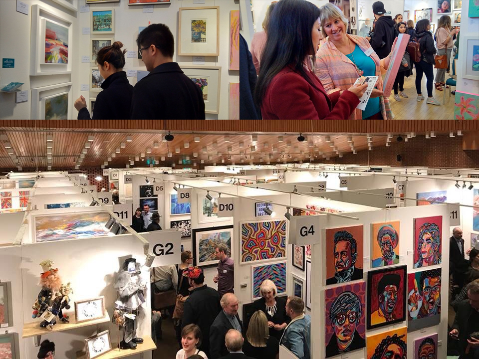 The Parallax Art Fair at Kensington Town Hall