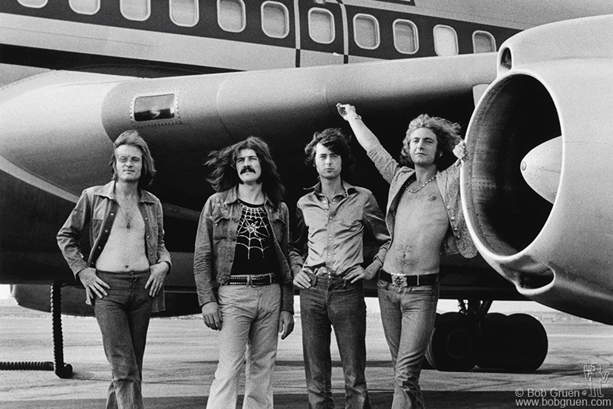 Led Zepplin by Bob Gruen