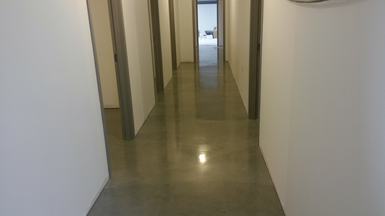 CVE polished floor 800 grit with densifier  hardener‏ #2.jpeg