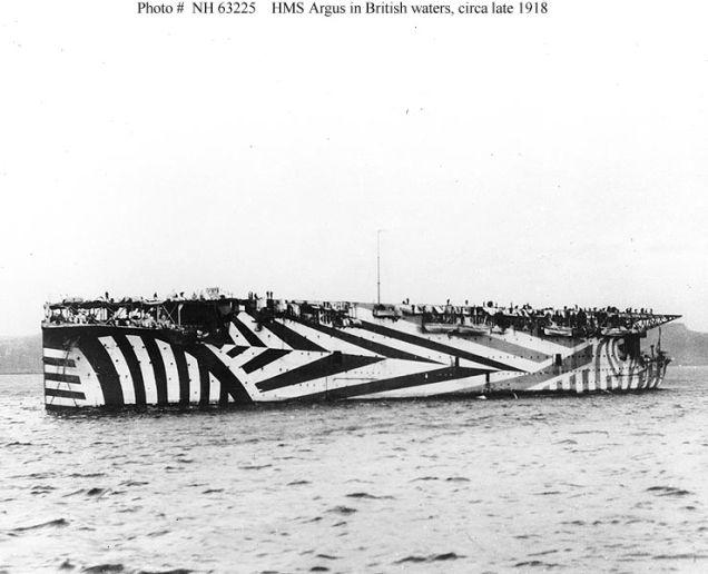 HMS Argus 1918