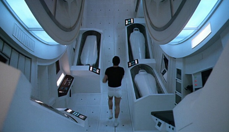 The spinning ship from 2001: A Space Odyssey