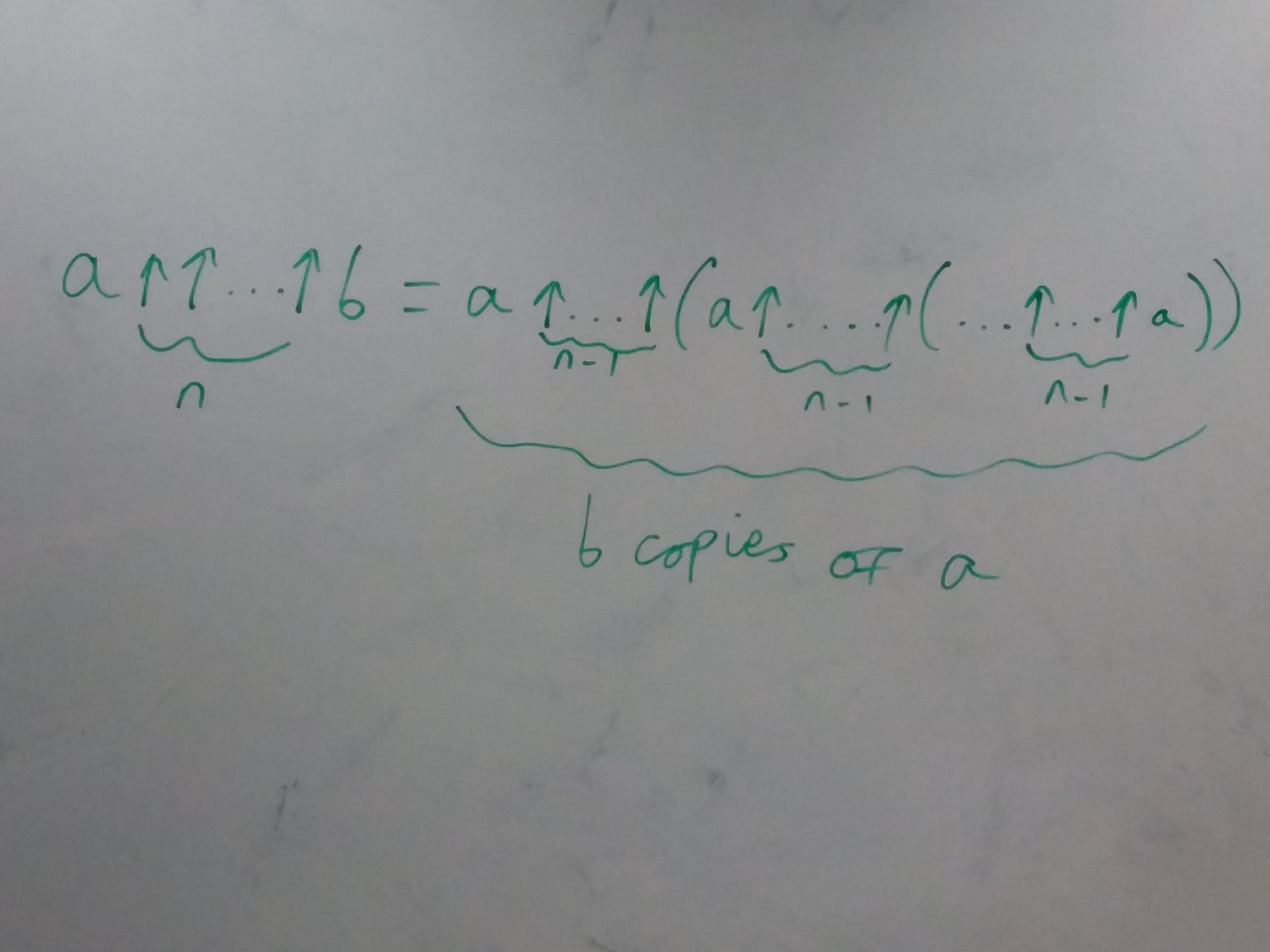 An iterative formula for the general form