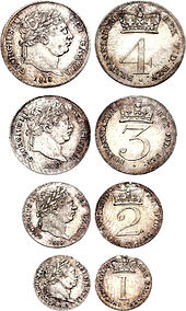 Maundy Money from 1818