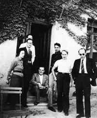 Seven of the founding members