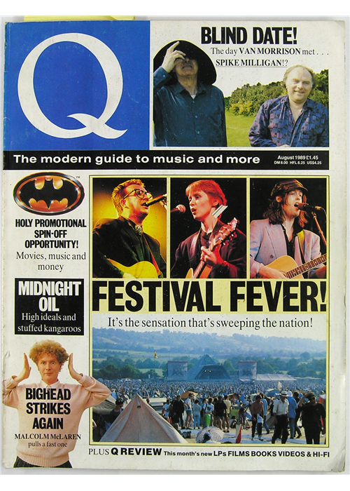 Q Cover Archive - The '80s — Q Magazine