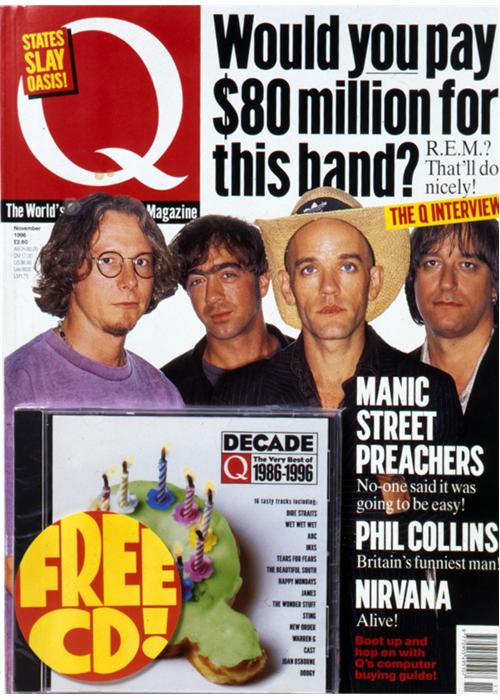 Q Cover Archive 1990s — Q Magazine
