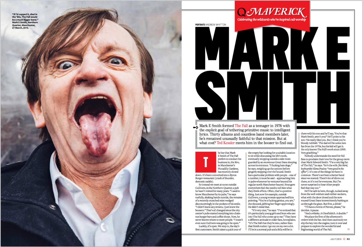 Mark E Smith's Final Q Interview — Q Magazine