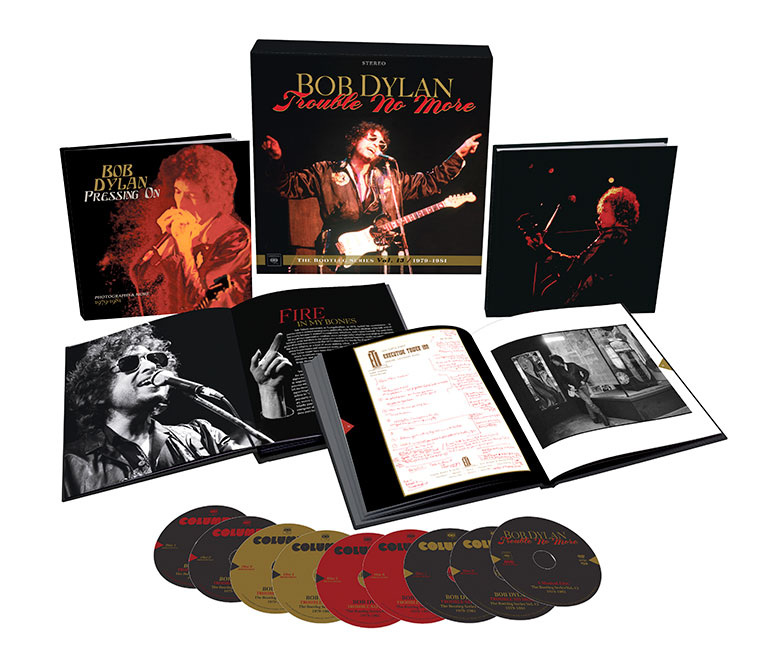 Bob Dylan – Trouble No More: Bootleg 13. Deluxe edition exploded pack shot