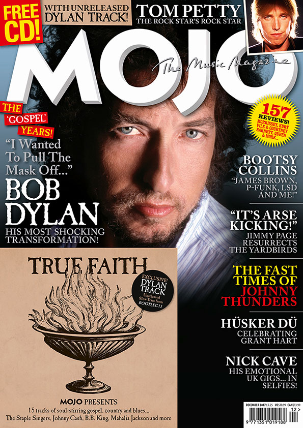 MOJO 289, featuring Bob Dylan, Tom Petty, Bootsy Collins, Johnny Thunders and more