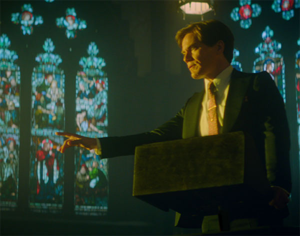 Michael Shannon as The Preacher – channeling Born Again Bob?