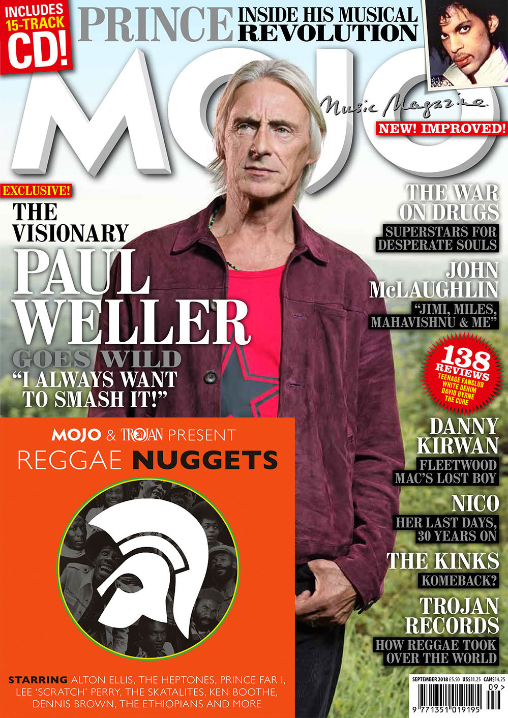 MOJO 299, in UK shops and available to order online.
