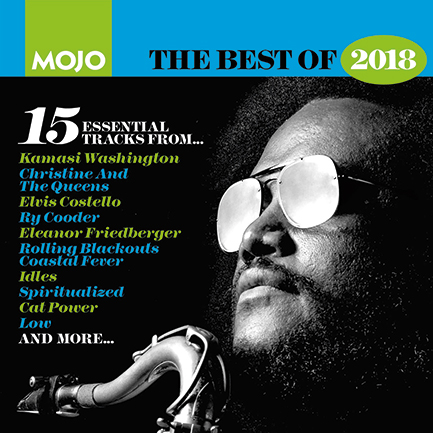 MOJO 302's covermount CD – containing our favourite new music of 2018.