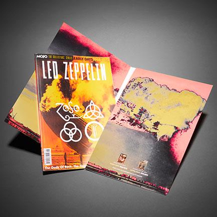 Led Zeppelin: Early Days – inside the wallet.