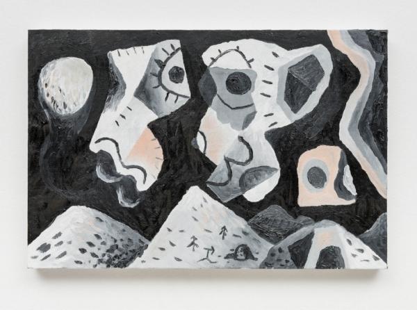 Antonio Malta Campos    Paisagem, 2015  óleo s/ tela, 40 x 60 cm   Landscape, 2015  oil on canvas, 15  ¾ x 23  ⅝  inches