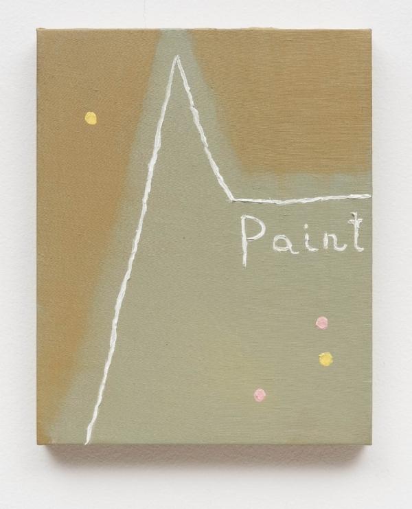 Ana Prata   Sem título, 2015  óleo s/ tela, 30 x 24 cm   Untitled, 2015  oil on canvas, 11 13/16 x 9 7/16 inches