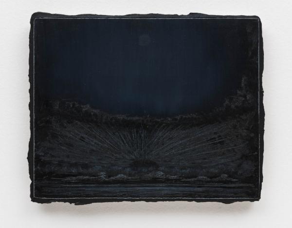 Lucas Arruda   Sem título, 2015  óleo s/ tela, 24 x 30 cm   Untitled, 2015 oil on canvas,  9 7/16 x 13/16inches
