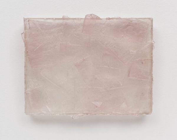 Dudi Maia Rosa   Sem título, 2016  resina poliéster pigmentada e fibra de vidro, 25,5 x 31 cm   Untitled, 2016  pigmented polyester resin and fiberglass, 10 x 12 3/16 inches