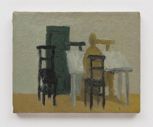 Rodrigo Andrade    Sem título, 1996  óleo s/ tela, 20 x 25 cm   Untitled, 1996   oil canvas, 7  ⅞  x 9  ⅞  inches