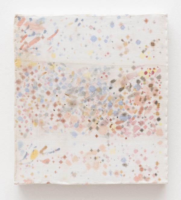 Jac Leiner   Sem título , 2010 aquarela sobre linho, 29,5 x 27 cm   Untitled , 2010 watercolour on line, 11 5/8 x 10 5/8 inches