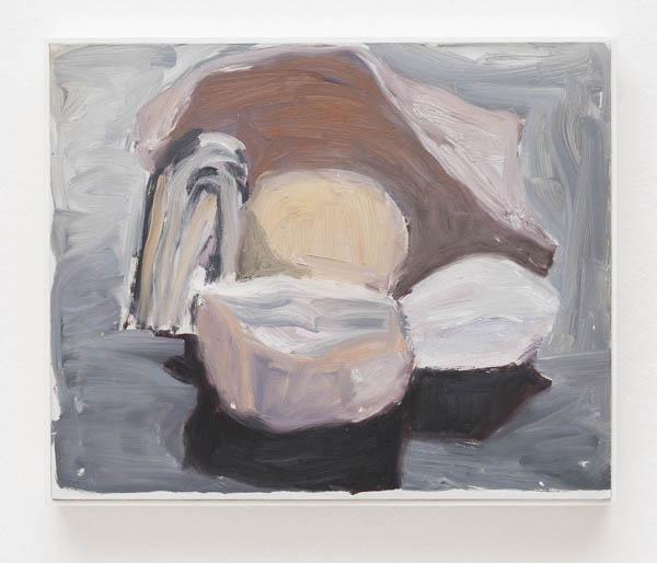 Elisabeth Jobim  Sem título, 1996 óleo sobre madeira, 22 x 27 cm  Untitled, 1996 oil on wood, 8 11/16 x 10 5/8 inches