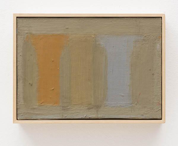 Paulo Pasta   Sem título , 1994 óleo sobre tela, 19 x 27 cm   Untitled , 1994 oil on canvas, 7 1/2 x 10 5/8 inches