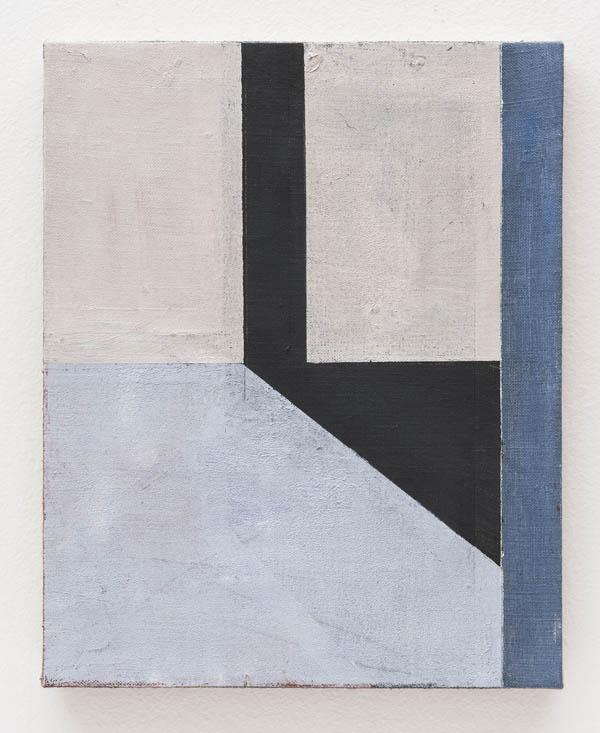 Fabio Miguez   Fresta , 2016 óleo e cera sobre linho, 30 x 24 cm   Aperture , 2016 oil and wax on line, 11 13/16 x 9 7/16 inches