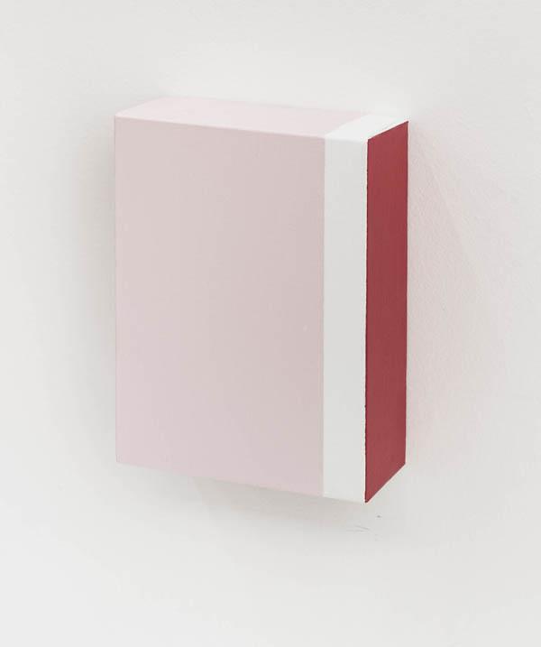 Elisabeth Jobim   Sem título , 2016 óleo sobre tela, 20 x 15 x 6 cm   Untitled , 2016 oil on canvas, 7 7/8 x 5 15/16 x 2 3/8 inches