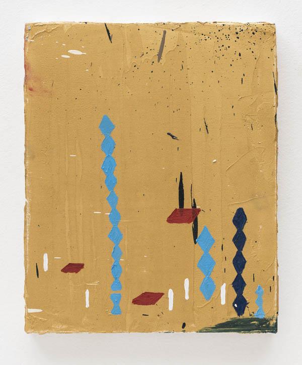 Marina Rheingantz    Brancusi , 2016 óleo sobre tela, 30 x 24 cm   Brancusi , 2016 oil om canvas, 11 13/16 x 9 7/16 inches