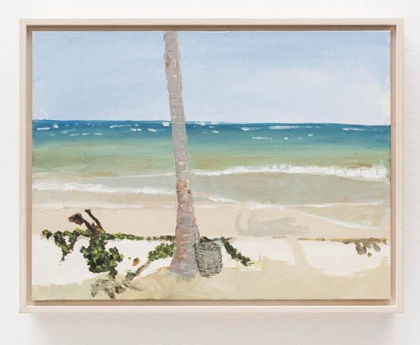 Luiz Zerbini   Sem título , 2013 óleo sobre tela, 22,5 x 30 cm   Untitled , 2013 oil on canvas, 8 7/8 x 1113/16 inches
