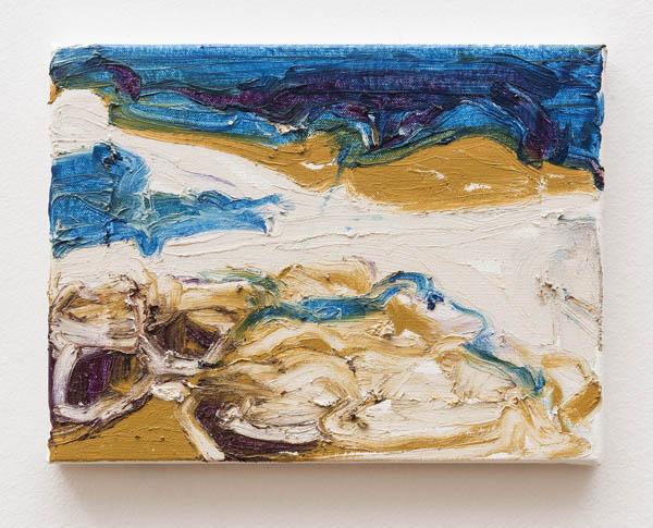 Janaina Tschäpe   Sem título , 2015 óleo sobre tela, 23 x 30,5 cm   Untitled , 2015 oil on canvas, 9 1/16 x 12 inches