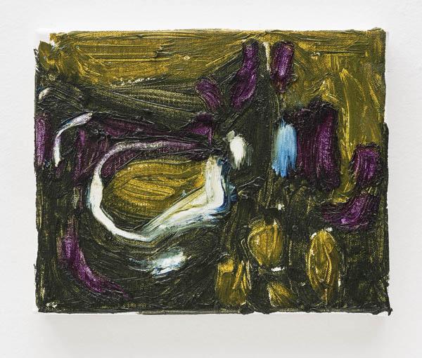 Janaina Tschäpe   Sem título , 2015 óleo sobre tela, 20 x 25,5 cm   Untitled , 2015 oil on canvas, 7 7/8 x 10 1/16 inches