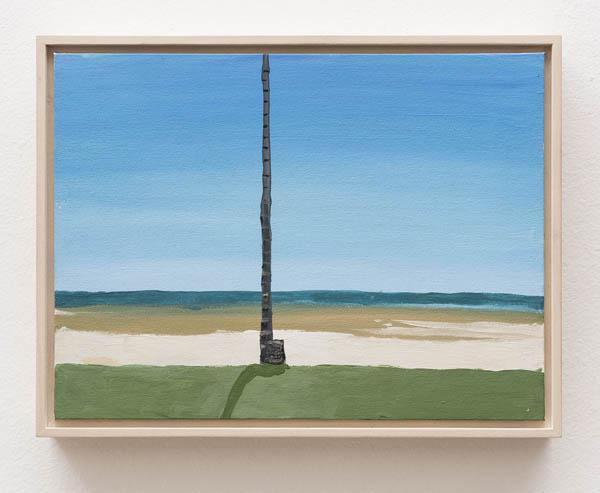 Luiz Zerbini   Sem título , 2014 óleo sobre tela, 22.5 x 30 cm   Untitled , 2014 oil on canvas, 8 7/8 x 1113/16 inches