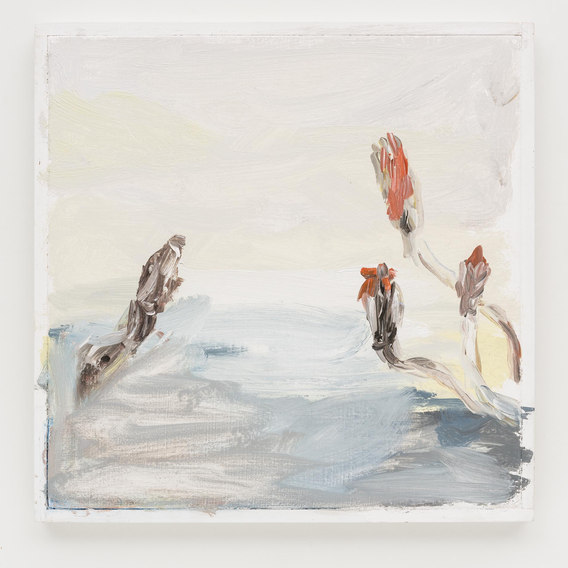 Gabriela Machado, Patagônia , 2013, óleo sobre linho | oil on linen ,30 x 30 cm