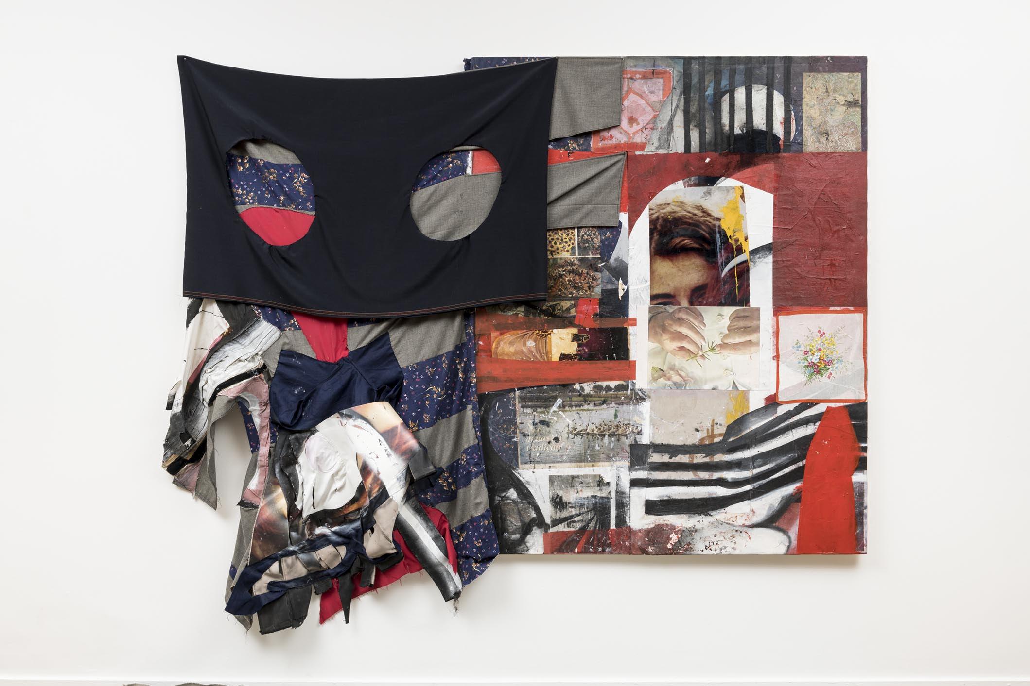 Arthur Chaves, Sem título [Untitled],  2017/2018, técnica mista [m ixed media ] aprox. 155,5 x 213 cm