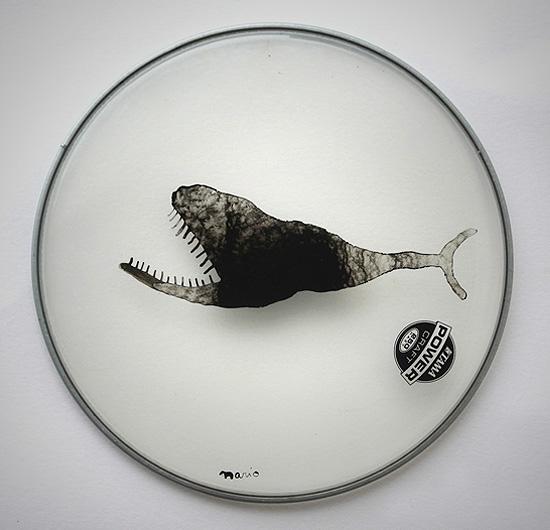 Ancient Fish  Drumhead 32cm