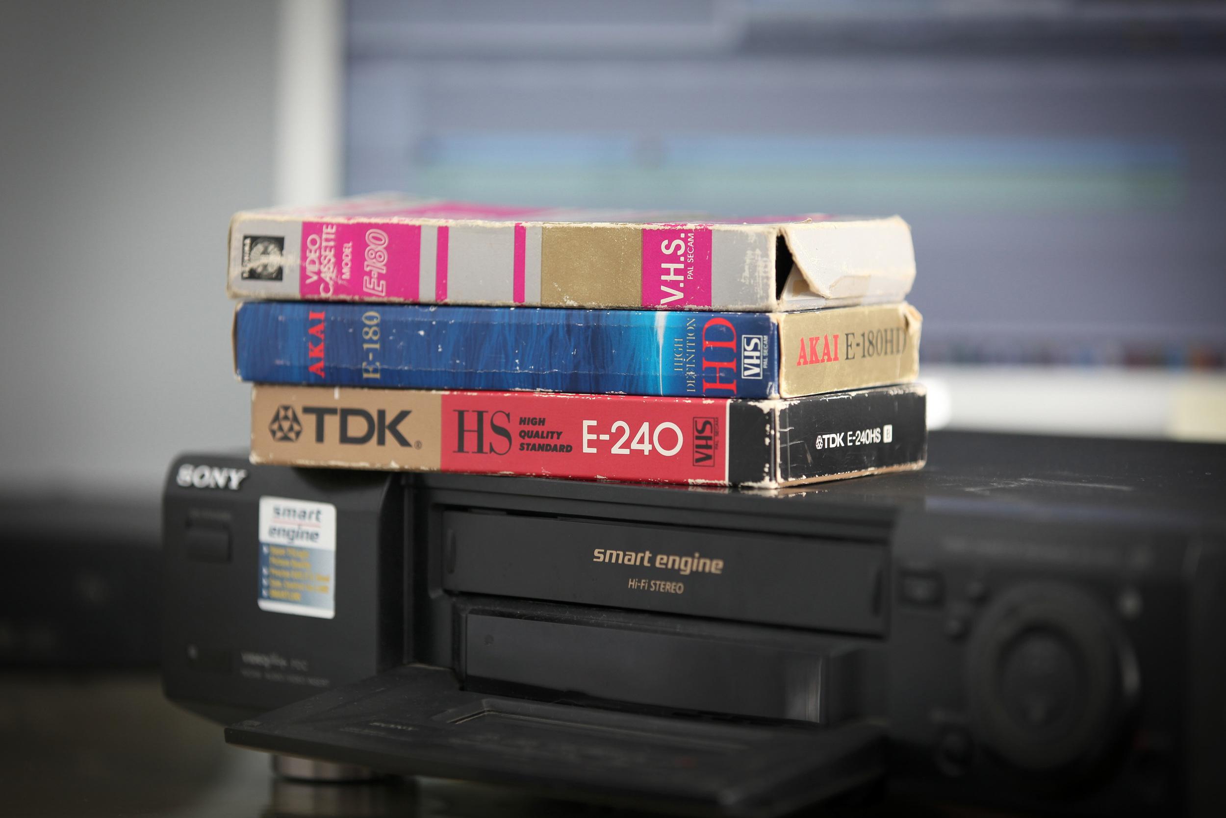 VHS TO DIGITAL TRANSFER