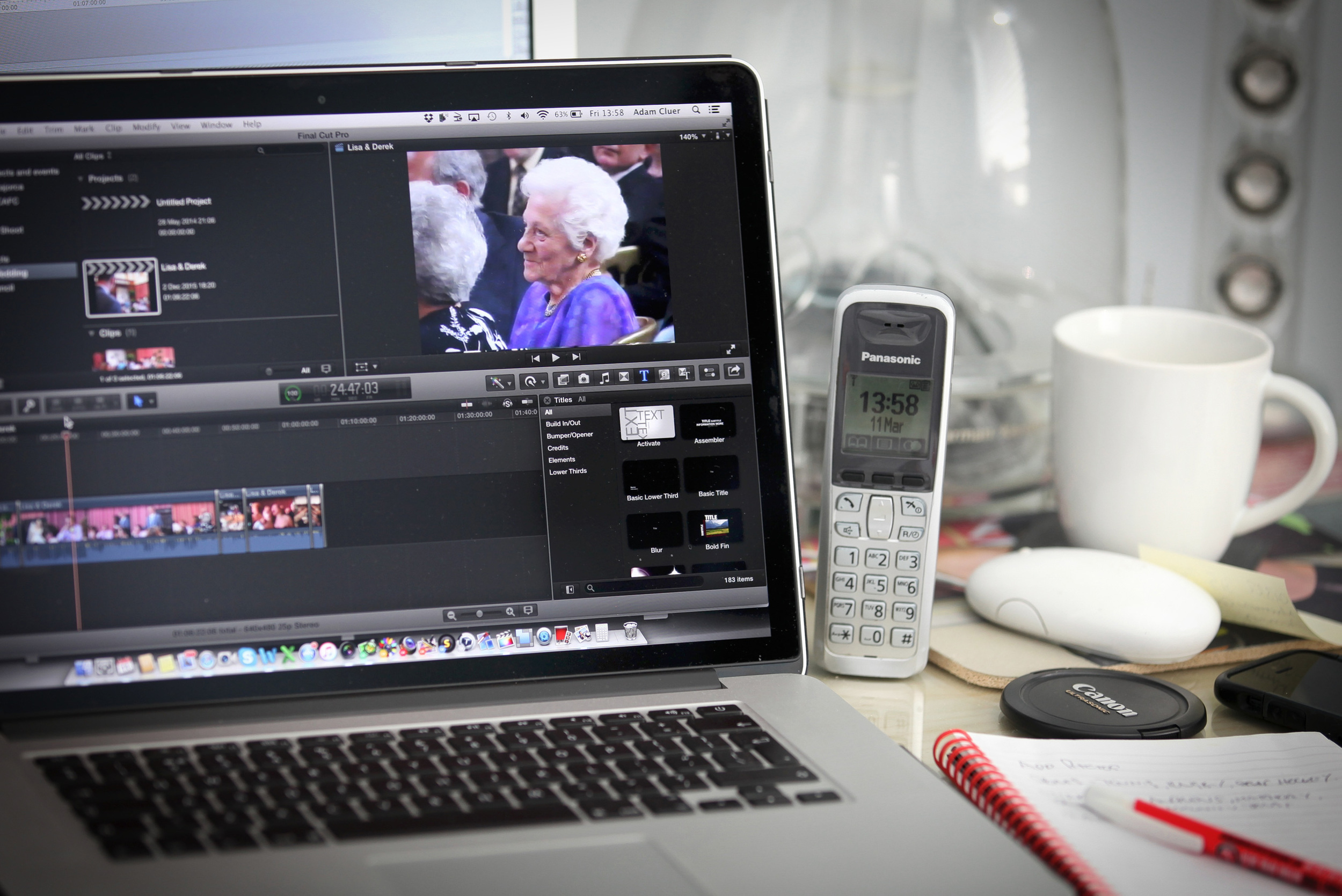 VIDEO RE-EDITING