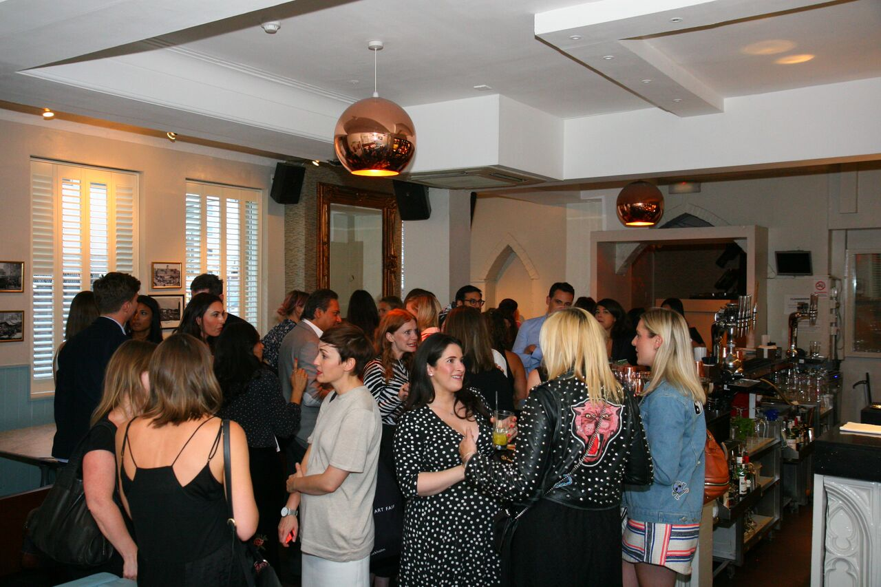 The turn out at Rue Belle Launch