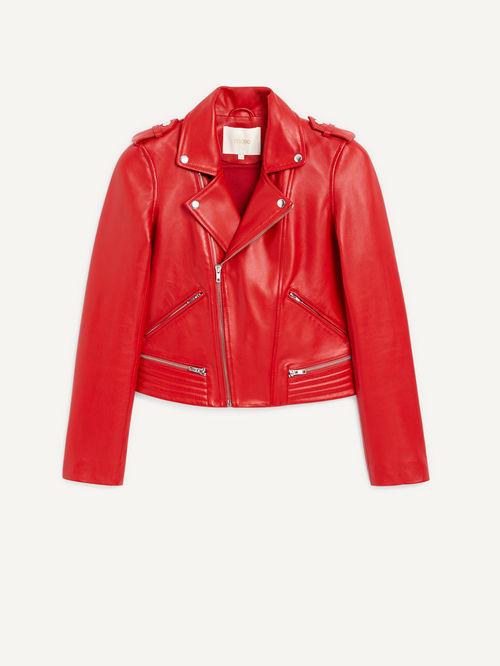 Maje Leather Jacket £420.00