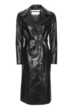 Must Have Item:  Vinyl Trench -       Topshop -£110.00