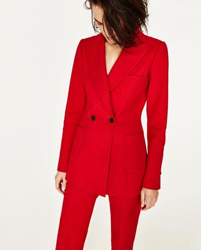 Red Blazer - Zara - £89.99