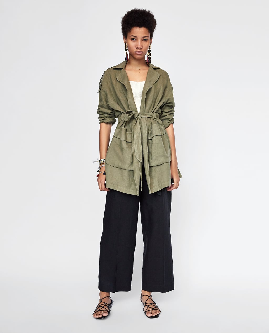 ZARA - Linen Coat £79.99