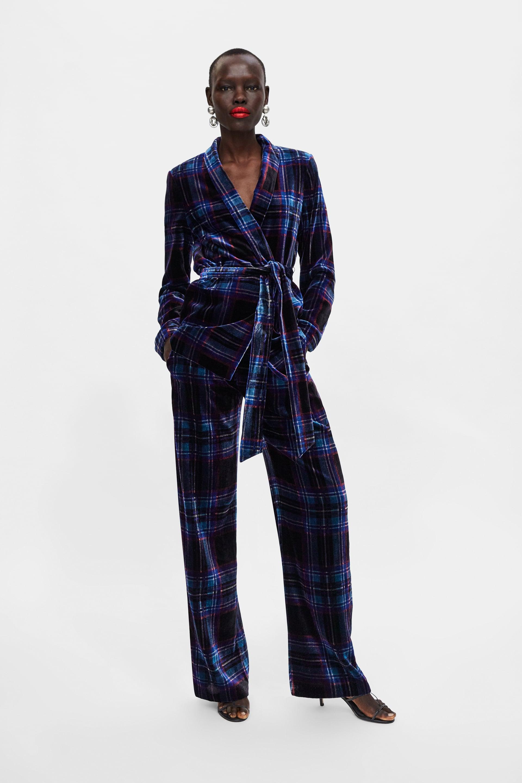 Zara -  Trousers 69.99 ,  Blazer 89.99