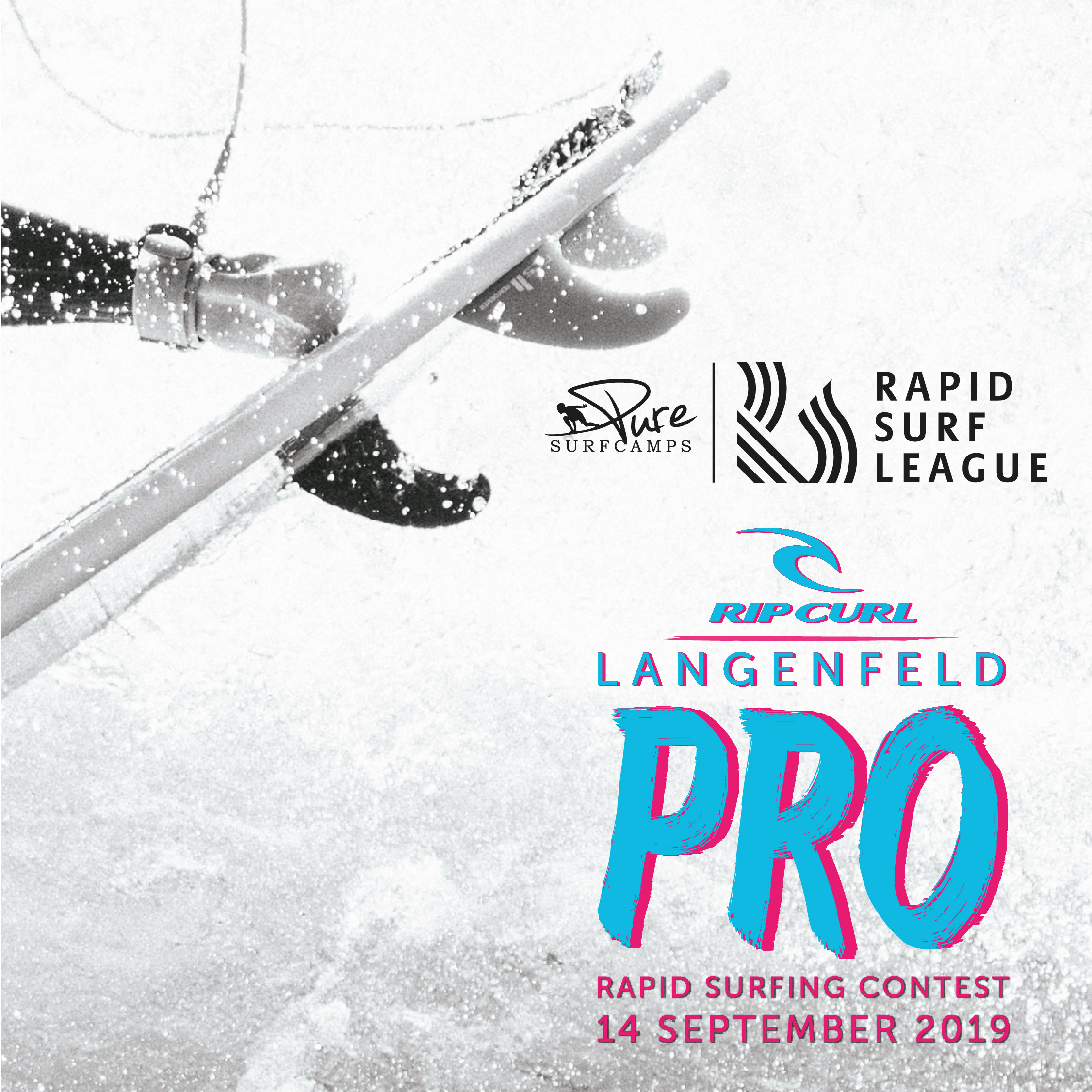Rip Curl Langenfeld Pro - Langenfeld, September 14th 2019The first ever stationary wave on a lake is of course a must again on the 2019 calendar. Big, powerful, exciting! It's the FINAL baby!