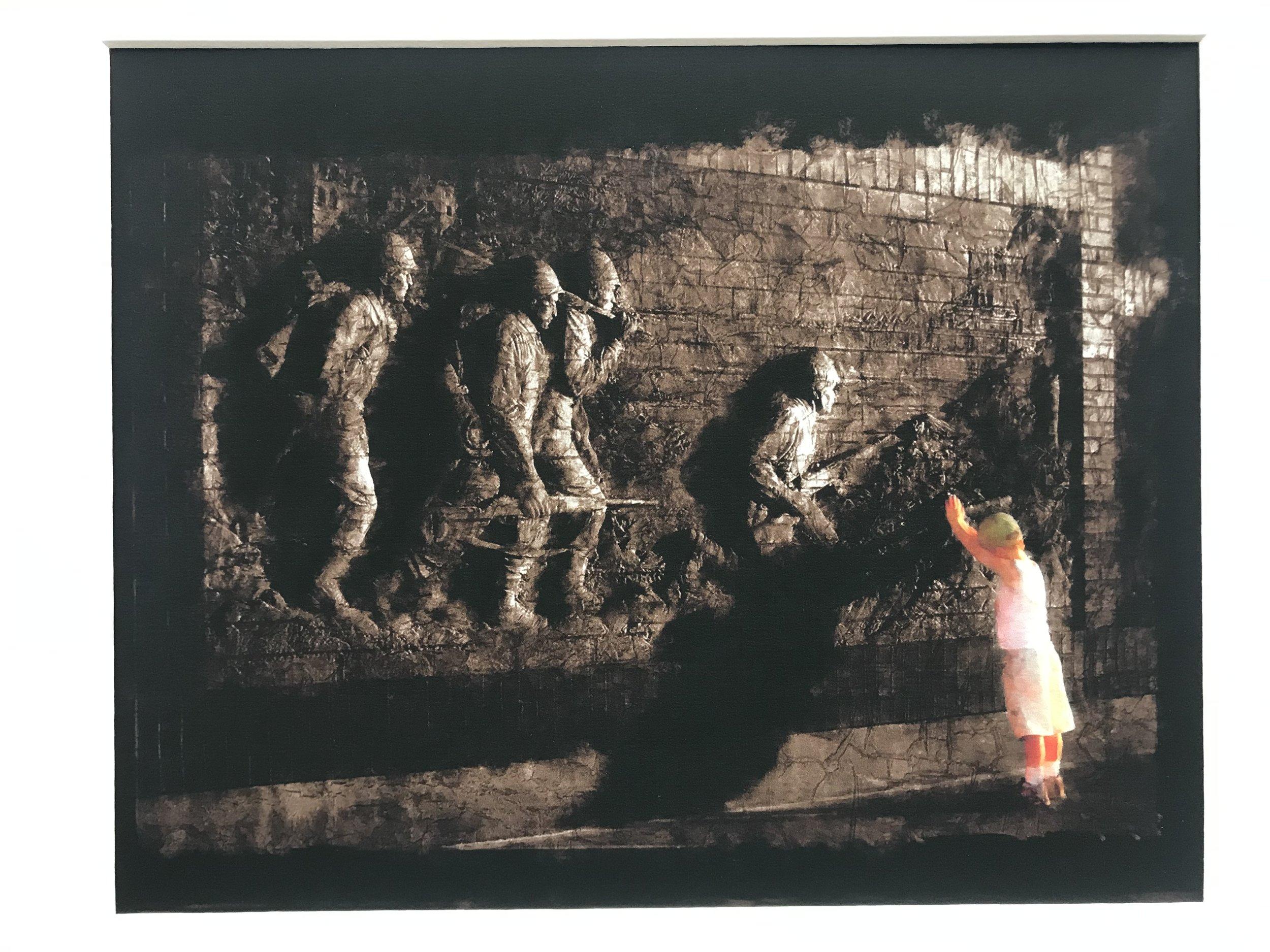 20th Century War Memorial Photograph